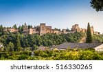 view of the famous alhambra ... | Shutterstock . vector #516330265
