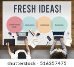 innovation start up creative... | Shutterstock . vector #516357475