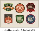 set of badges and labels  ... | Shutterstock .eps vector #516362539