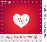 cardiogram icon vector