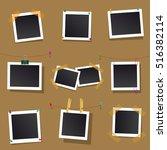 set square vector frames for...   Shutterstock .eps vector #516382114