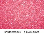 Sequins On Fabric. Pink Sequin...