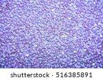 Closeup Background Lilac Beads...