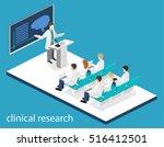 isometric flat 3d concept... | Shutterstock .eps vector #516412501