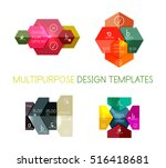 paper infographic template. for ...
