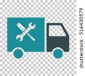 service van eps vector icon.... | Shutterstock .eps vector #516430579