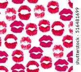cute seamless pattern made of... | Shutterstock .eps vector #516481699