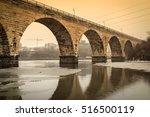 Stone Arch Bridge Over The...
