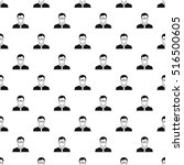 teacher pattern. simple... | Shutterstock .eps vector #516500605