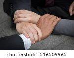 hands were a collaboration... | Shutterstock . vector #516509965
