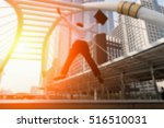 blurred images of a businessman ... | Shutterstock . vector #516510031