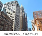 downtown baltimore  maryland | Shutterstock . vector #516524854