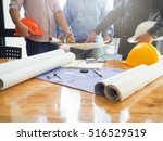 architect concept  architects... | Shutterstock . vector #516529519