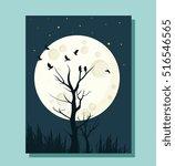 Moonlight Landscape Theme...