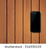 photorealistic smart phone with ... | Shutterstock .eps vector #516550135