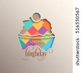 Illustration Of Happy Birthday...
