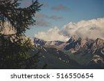 View Of Dolomites Near Cibiana...