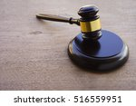 hammers judiciary on wooden