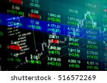 data analyzing in forex ... | Shutterstock . vector #516572269