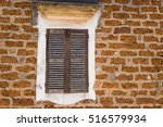 laterite wall background with...   Shutterstock . vector #516579934