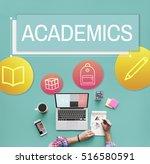 study school academic icon... | Shutterstock . vector #516580591
