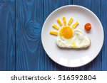 Sunshine Fried Eggs Breakfast...