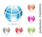 vector illustration colorful... | Shutterstock .eps vector #516634414