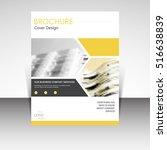 business annual report brochure ... | Shutterstock .eps vector #516638839