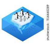 isometric 3d vector realistic... | Shutterstock .eps vector #516660289