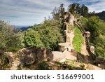 rudkhan castle  a brick and... | Shutterstock . vector #516699001