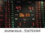 scoreboard | Shutterstock . vector #516701464