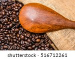 roasted coffee beans | Shutterstock . vector #516712261