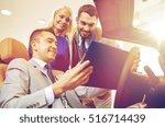 auto business  car sale ... | Shutterstock . vector #516714439