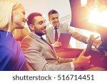 auto business  car sale ... | Shutterstock . vector #516714451