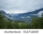 mountain scenery in montenegro | Shutterstock . vector #516716005
