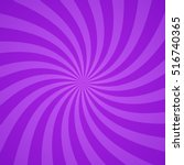 swirling radial bright purple... | Shutterstock .eps vector #516740365