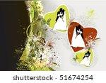 vector illustration of wedding | Shutterstock .eps vector #51674254