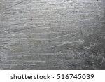 scratched steel background | Shutterstock . vector #516745039