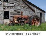 Abandoned Rusty Tractor