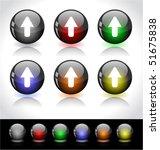web buttons | Shutterstock .eps vector #51675838