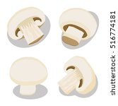 abstract vector icon... | Shutterstock .eps vector #516774181