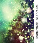 christmas background | Shutterstock . vector #516775621