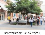 blurred image of people out... | Shutterstock . vector #516779251