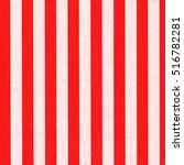 Striped Red White Background...