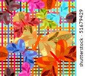 butterfly seamless pattern. | Shutterstock .eps vector #51679429