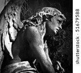 Angel At La Recoleta Cemetery...