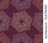 abstract seamless patchwork... | Shutterstock . vector #516796987