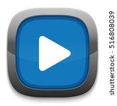 play button | Shutterstock .eps vector #516808039