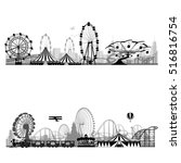 vector illustration.roller... | Shutterstock .eps vector #516816754