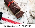 Chocolate Loaf Cake With Banan...